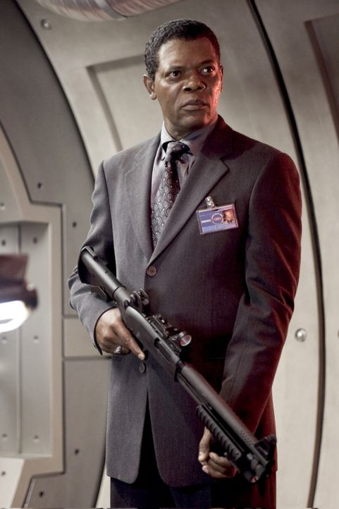 Erneut muss Agent Augustus Gibbons (Samuel L. Jackson) einen renitenten Outlaw zum Geheimagenten ausbilden. Diesmal trifft es Darius Stone. Er soll... - Bildquelle: 2005 Revolution Studios Distribution Company, LLC. All Rights Reserved.