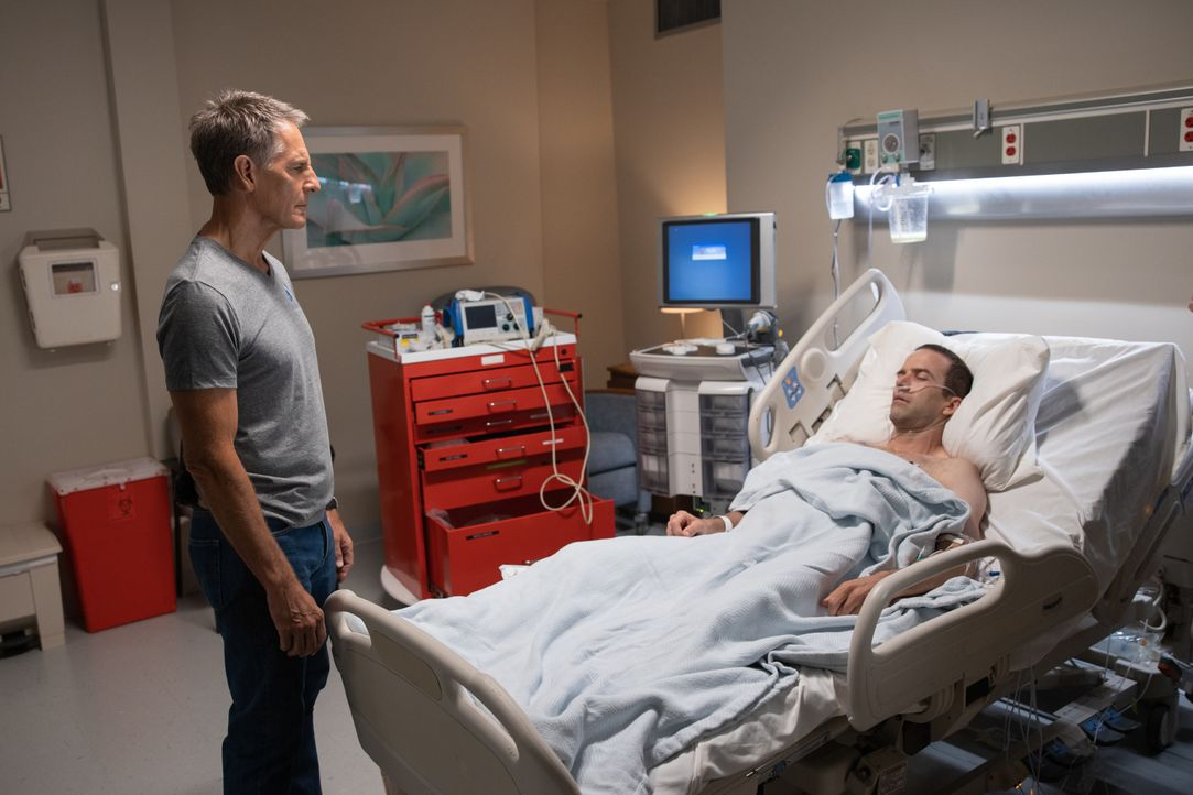 Dwayne Pride (Scott Bakula, l.); Christopher LaSalle (Lucas Black, r.) - Bildquelle: Sam Lothridge 2019 CBS Broadcasting Inc. All Rights Reserved. / Sam Lothridge