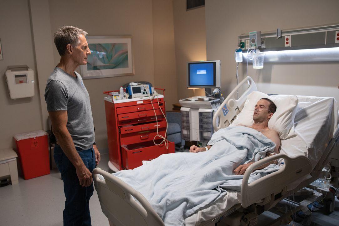 Dwayne Pride (Scott Bakula, l.); Christopher LaSalle (Lucas Black, r.) - Bildquelle: Sam Lothridge 2019 CBS Broadcasting Inc. All Rights Reserved. / Sam Lothridge