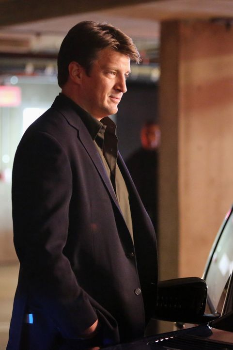 Die Primatenforscherin und Paartherapeutin Alice Clark wird ermordet in ihrem Wagen aufgefunden. Richard Castle (Nathan Fillion) ist schockiert, den... - Bildquelle: 2013 American Broadcasting Companies, Inc. All rights reserved.