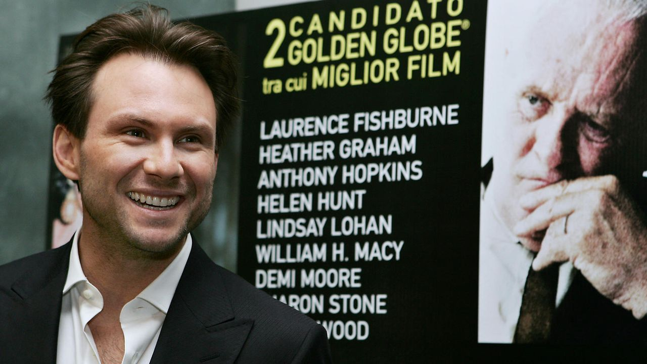 Christian Slater  - Bildquelle: getty-AFP