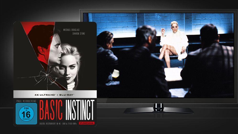 Basic Instinct (UHD+Blu-ray Disc) - Bildquelle: STUDIOCANAL