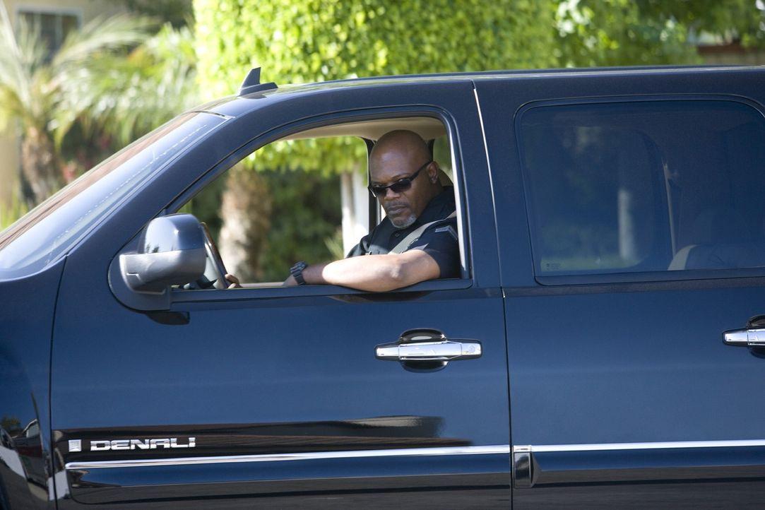 Der Polizist Abel Turner (Samuel L. Jackson) sorgt nicht nur in seinem Revier für Zucht und Ordnung, sondern auch in seiner Wohngegend hat er einen... - Bildquelle: 2007 Screen Gems, Inc. All Rights Reserved.