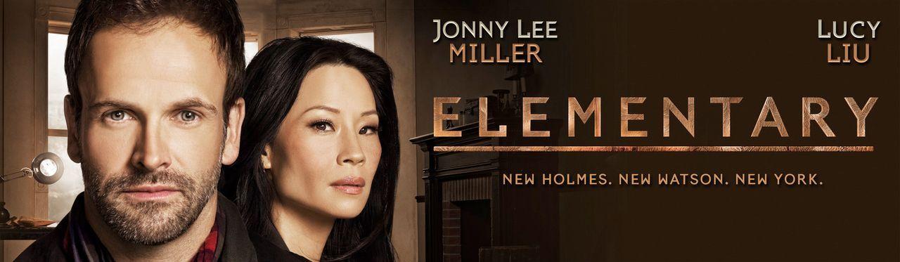 (1. Staffel) - Elementary: Sherlock Holmes (Jonny Lee Miller, l.) und Joan Watson (Lucy Liu, r.) im heutigen New York ... - Bildquelle: CBS Television