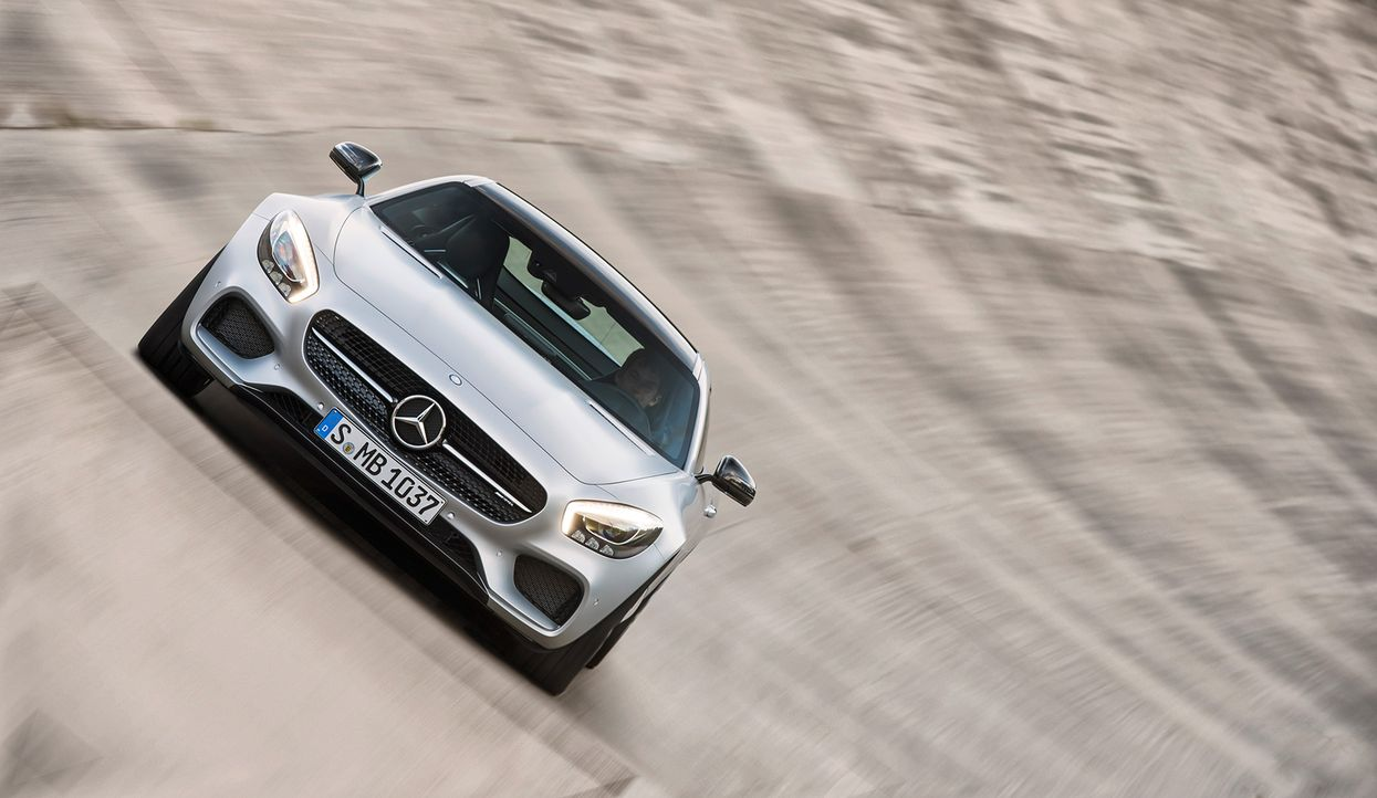Mercedes AMG GT (1) - Bildquelle: press photo, do not use for advertising purposes