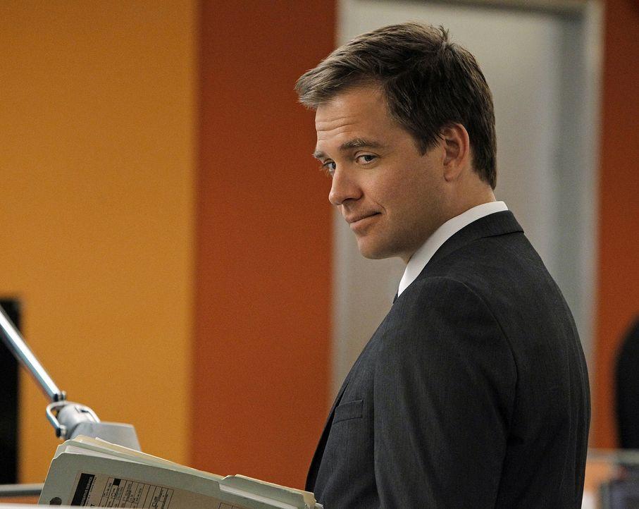 Versucht alles, um den Serienmörder zur Strecke zu bringen: Tony (Michael Weatherly) ... - Bildquelle: CBS Television