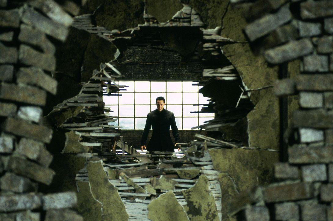 Angesichts der drohenden Katastrophe kämpft Neo (Keanu Reeves) nicht nur um sein eigenes Leben, sondern um die Zukunft der gesamten Menschheit ... - Bildquelle: Warner Bros.
