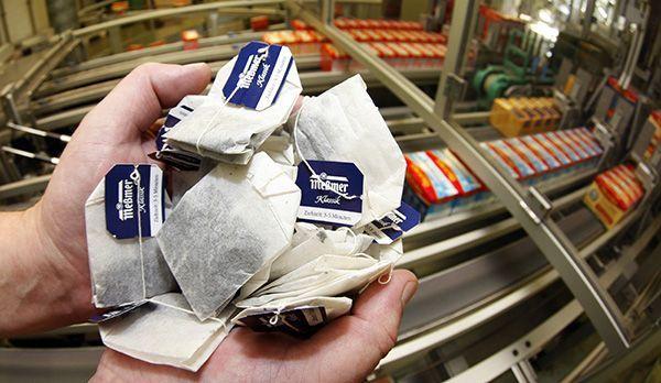 Teebeutel - Bildquelle: Verwendung weltweit, usage worldwide