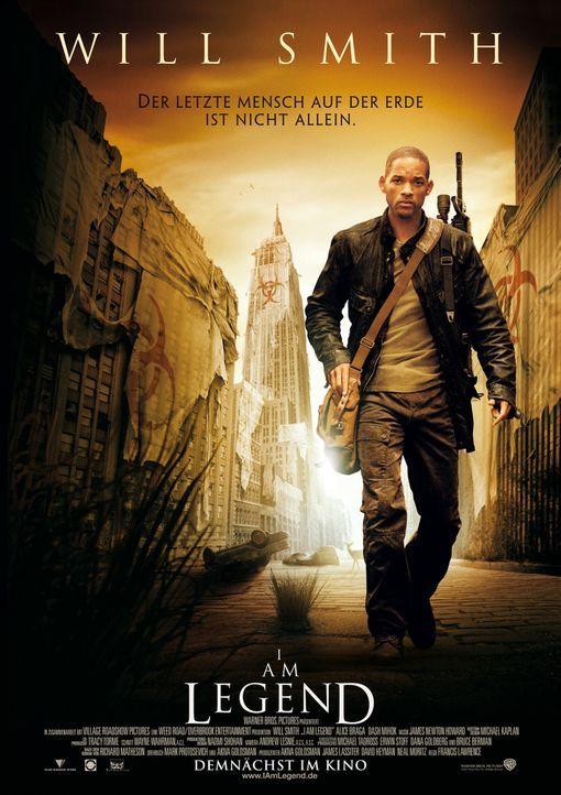 I AM LEGEND - Plakatmotiv - Bildquelle: Warner Brothers International