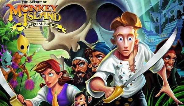 Monkey Island - Bildquelle: dpa