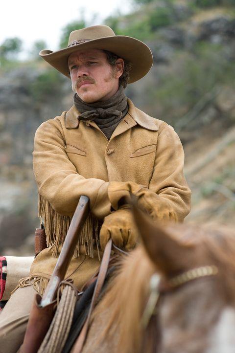 Der junge Texas Ranger LaBoeuf (Matt Damon) ist ziemlich von sich überzeugt, bis er auf ein blitzgescheites 14-jähriges Mädchen stößt, das alles und... - Bildquelle: (2010) PARAMOUNT PICTURES. All rights reserved.