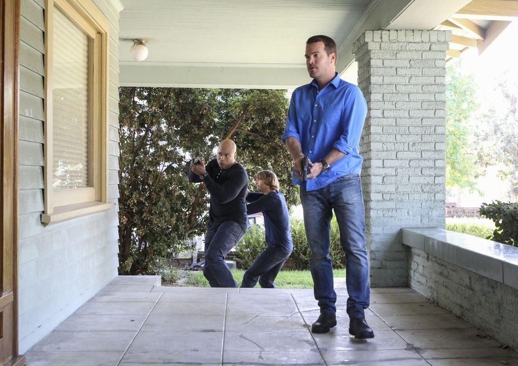 Nachdem eine unbekannte Frau zwei Männer direkt vor Callens Zuhause umgebracht hat, verfolgt das Team eine neue Spur auf der Suche nach dem Maulwurf... - Bildquelle: Sonja Flemming 2016 CBS Broadcasting, Inc. All Rights Reserved.