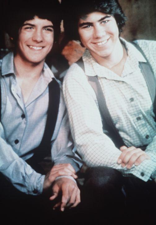 Albert Ingalls (Matthew Laborteaux, l.) und Andy Garvey (Patrick Laborteaux, r.) gehen zusammen durch dick und dünn. - Bildquelle: Worldvision