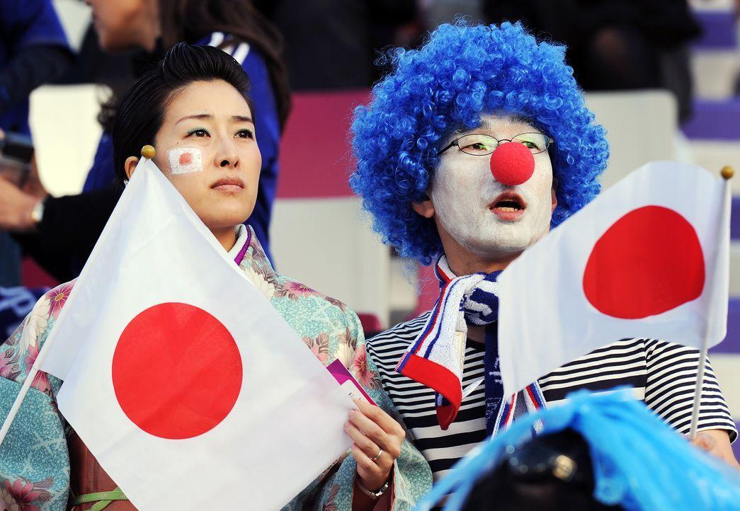 Die japanischen Fans - 7 - Bildquelle: AFP