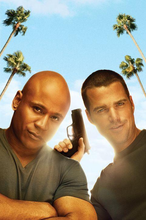 (1. Staffel) - Ermitteln Undercover im sonnigen Kalifornien um die nationale Sicherheit zu wahren: Special Agent G. Callen (Chris O'Donnell, l.) und... - Bildquelle: CBS Studios Inc. All Rights Reserved.