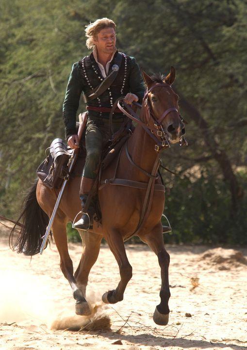 Muss eine wunderschöne Frau und das Britische Empire retten: Richard Sharpe (Sean Bean) ... - Bildquelle: Copyright BBC 2006