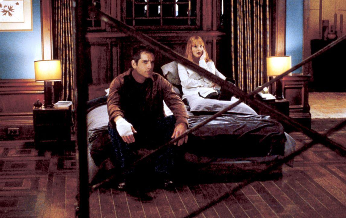 Schon bald müssen Alex (Ben Stiller, l.) und Nancy (Drew Barrymore, r.) erkennen, dass sie tunlichst ganz schnell alles vergessen sollten, was sie... - Bildquelle: Michaels Darren Miramax Films.  All Rights Reserved.
