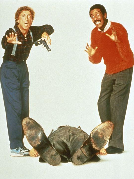 Der eine hat den Mord nicht gehört, der andere hat ihn nicht gesehen: der taube Dave (Gene Wilder, l.) und der blinde Wally (Richard Pryor, r.) ... - Bildquelle: TriStar Pictures