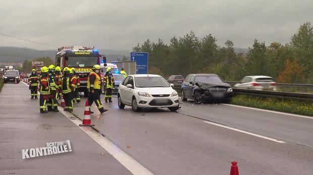 Achtung Kontrolle - Achtung Kontrolle! -thema U.a.: Rettungsdienst Regensburg - Mehrere Verletzte Auf Der Autobahn