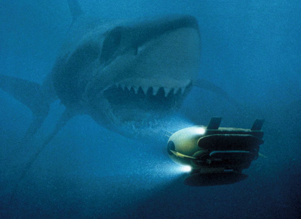 Der Magalodon verfügt über einen riesigen Appetit und ein entsprechendes Mundwerk ... - Bildquelle: Nu Image