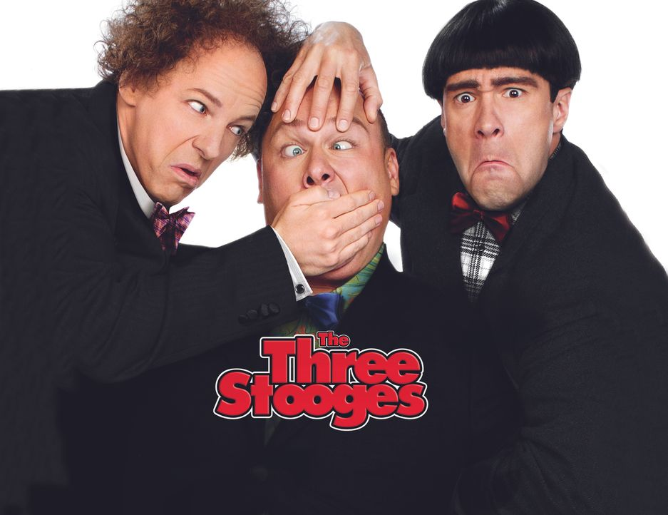 DIE STOOGES - DREI VOLLPFOSTEN DREHEN AB - Artwork - Bildquelle: TM and   2012 Twentieth Century Fox Film Corporation.  All rights reserved.