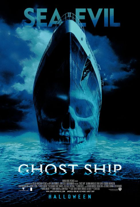 Ghost Ship - Plakatmotiv - Bildquelle: Warner Brothers