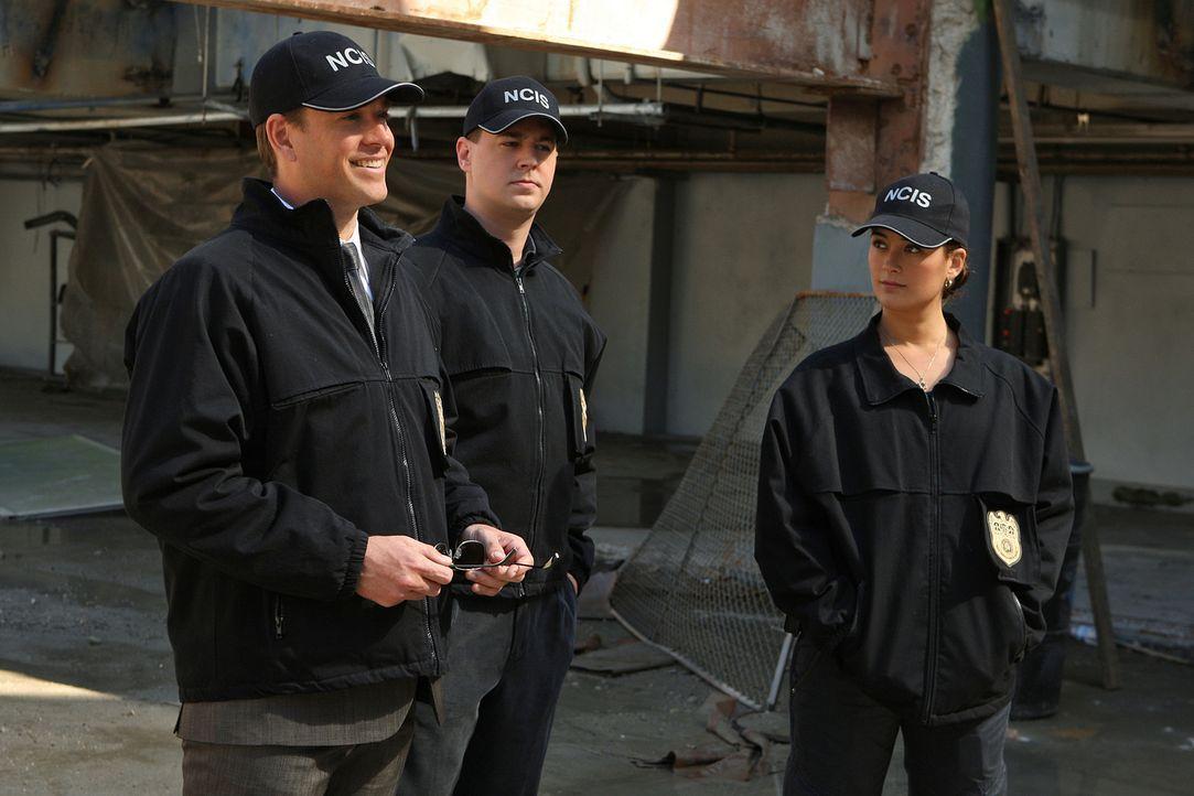 Sind dem CIA-Agenten Trent Kort behilflich, den Gangsterboss Jonathan Siravo und sein Verbrecher-Imperium hochgehen zulassen: Ziva (Cote de Pablo, l... - Bildquelle: CBS Television
