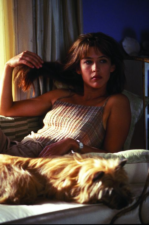 Ein Herz und eine Seele: Lila Dubois (Sophie Marceau) und ihr Hund - Bildquelle: Warner Brothers