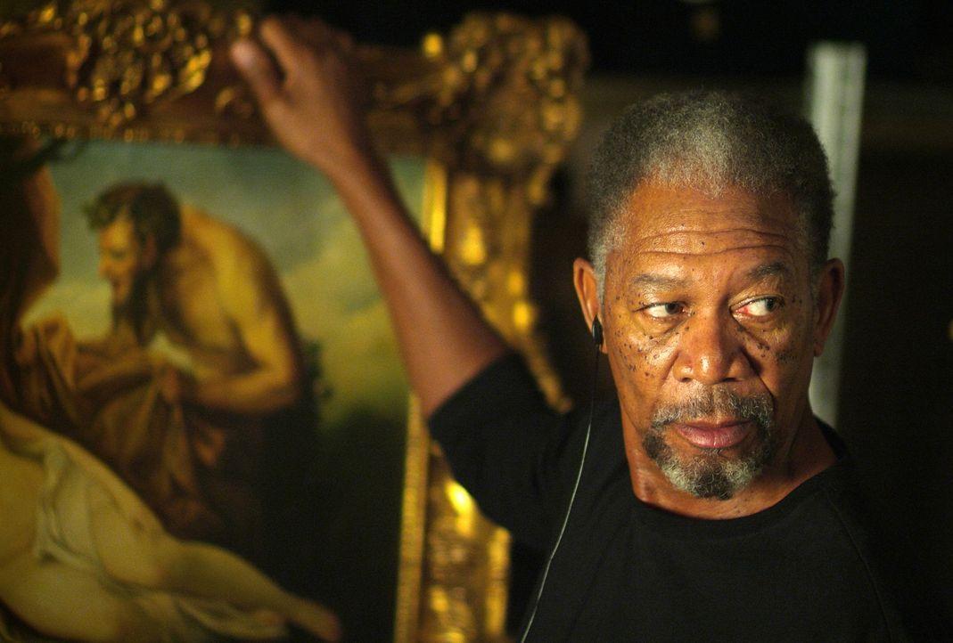 Um einen neuen Coup zu starten braucht Kunstdieb Keith Ripley (Morgan Freeman) einem Komplizen. Doch wird er den Richtigen dafür finden? - Bildquelle: Nu Image