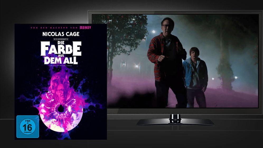 Die Farbe aus dem All (UHD + Blu-ray Disc) - Bildquelle: Koch Films