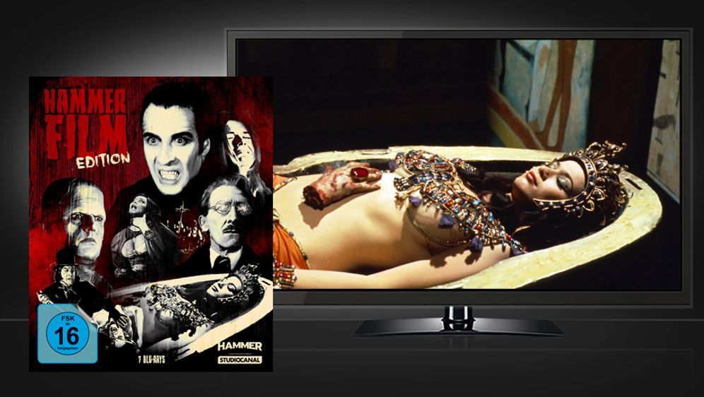 Hammer Film Edition (Blu-ray Box) - Bildquelle: Studiocanal