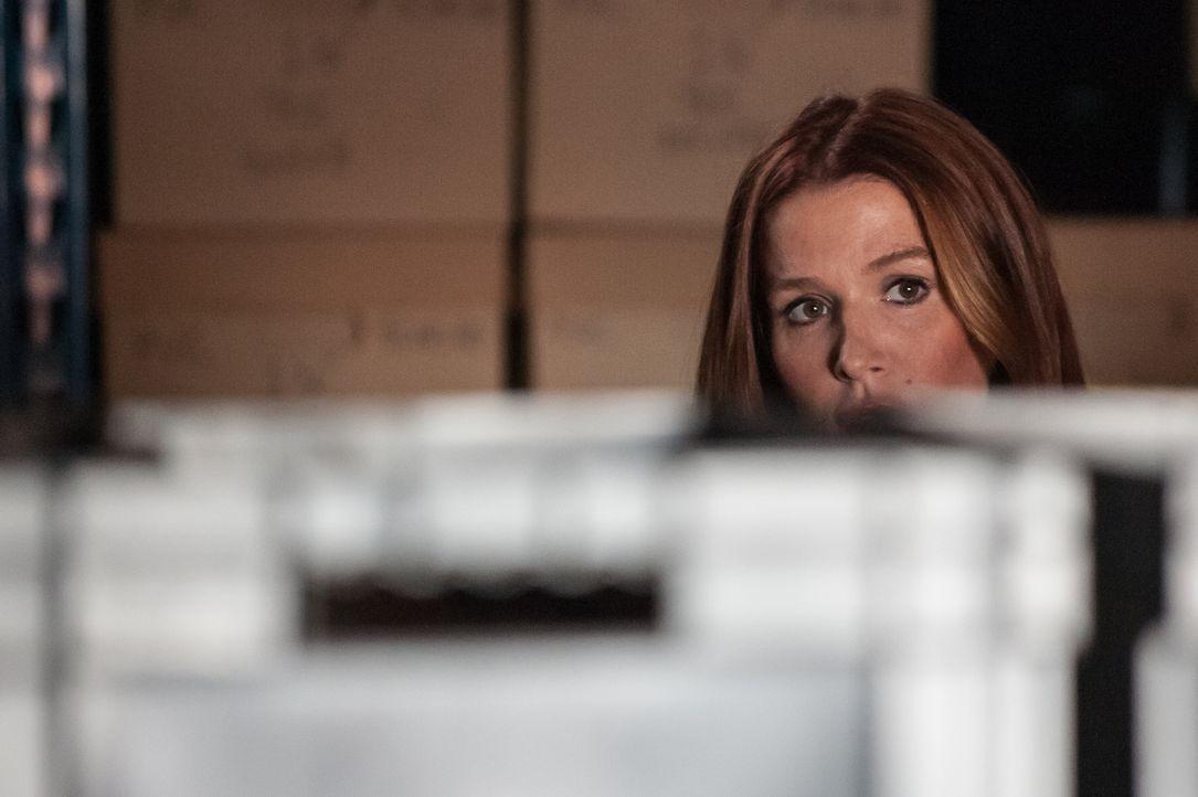 Carrie (Poppy Montgomery) zweifelt an der Theorie, dass es sich bei dem Bombenanschlag um einen terroristischen Gewaltakt handelt. Was also steckt w... - Bildquelle: 2014 Broadcasting Inc. All Rights Reserved.