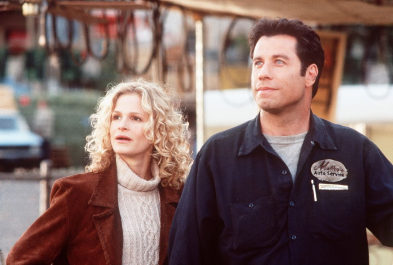Lave Pennamin (Kyra Sedgwick, l.) ist zu tiefst beeindruckt von George Malleys (John Travolta, r.) unglaublicher Intelligenz und Geisteskraft ... - Bildquelle: Buena Vista Pictures
