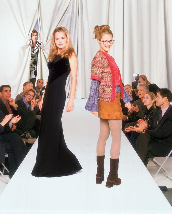 Eines Tages tauschen das erfolgreiche Model Janine (Maggie Lawson) und die schüchterne Alex (Maggie Lawson) heimlich die Rollen. Für jedes der bei... - Bildquelle: Buena Vista Television