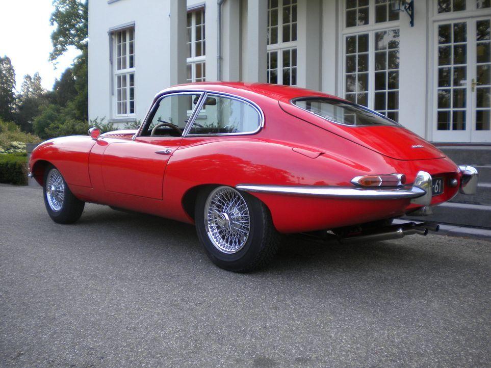 """In der 16. """"Abenteuer Auto""""-Umbauaktion widmet sich die Redaktion einer Ikone der Automobilgeschichte, dem Jaguar E-Type. - Bildquelle: kabel eins"""