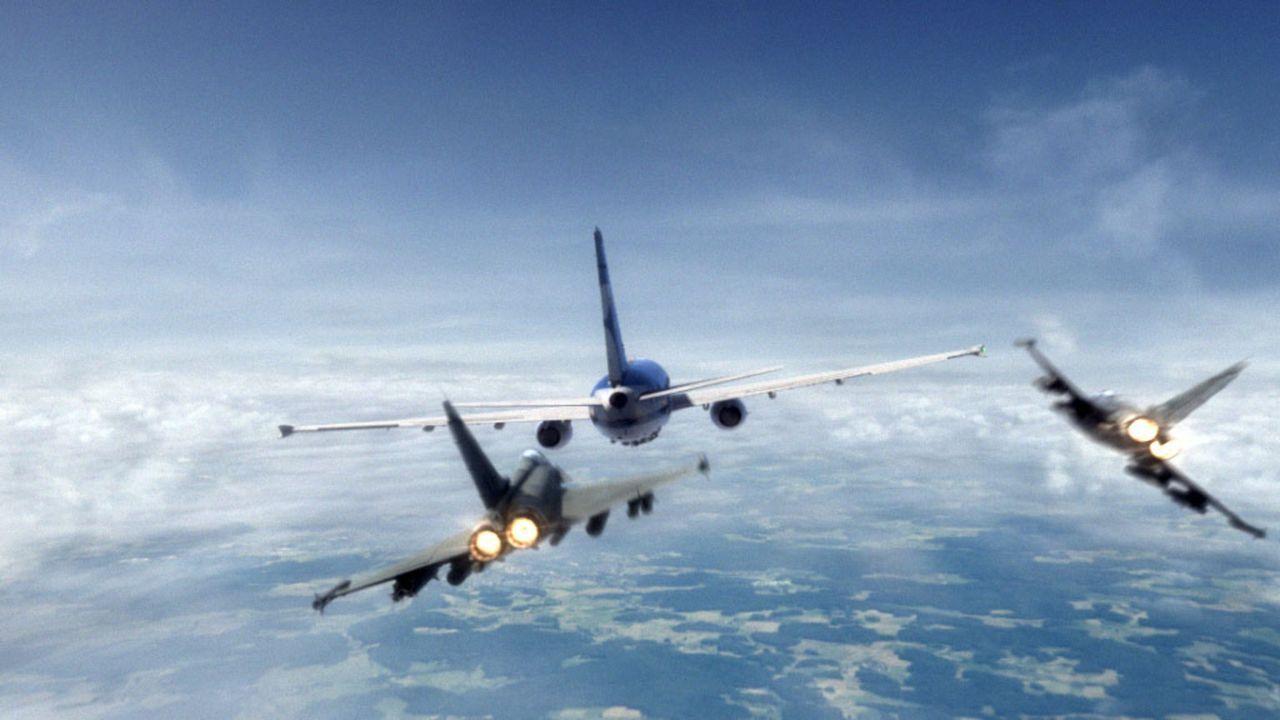 Der manövrierunfähige Ferienflieger EA-714 steuert direkt auf Berlin zu. Es bleiben nur 90 Minuten, bis das Flugzeug mitten in der Hauptstadt aufsch... - Bildquelle: ProSieben