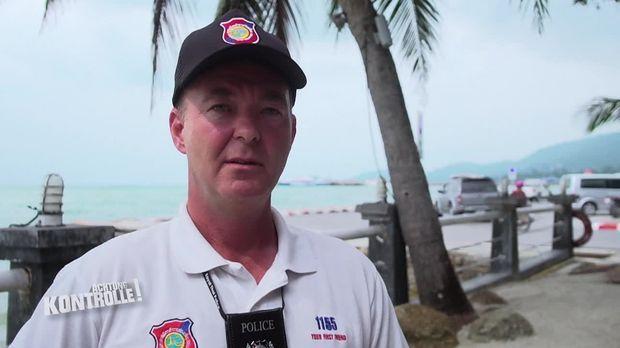 Achtung Kontrolle - Achtung Kontrolle! - Thema U.a.: Arbeiten, Wo Andere Urlaub Machen - Deutscher Cop In Thailand
