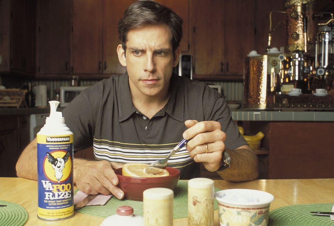 Mit lächerlichen 2000 Dollar könnte Tim (Ben Stiller) sich an der Erfindung seines Freundes Nick beteiligen. Doch Tim hält diese für eine Schnapside... - Bildquelle: Sony 2007 CPT Holdings, Inc.  All Rights Reserved.