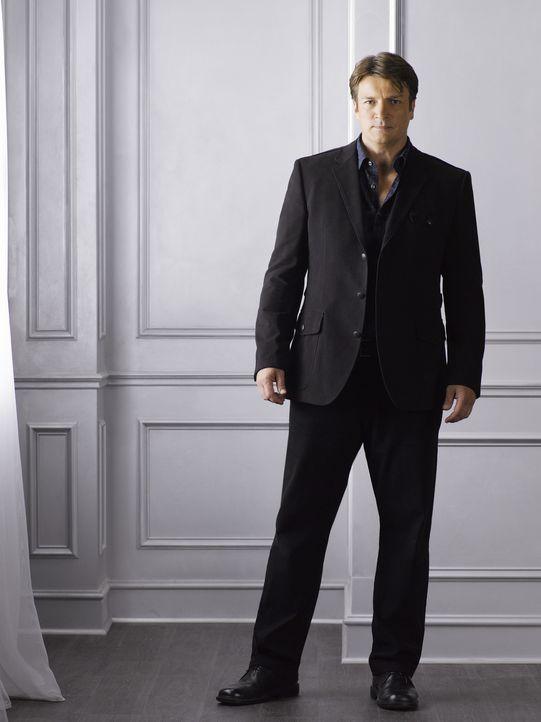 (4. Staffel) - Richard Castle (Nathan Fillion) kann es einfach nicht lassen, seine Nase in die Fälle von Kate Beckett und ihrem Team zu stecken. - Bildquelle: ABC Studios