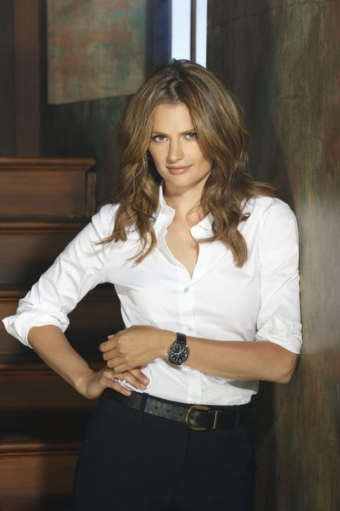 (6. Staffel) - Kate Beckett (Stana Katic) ist eine hartnäckige, clevere Detektivin der Mordkommission des New York Police Department. - Bildquelle: 2013 American Broadcasting Companies, Inc. All rights reserved.