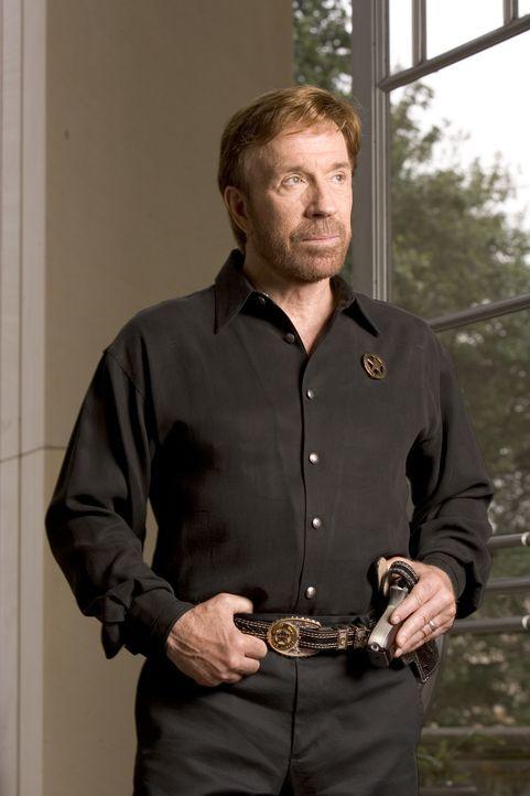 Texas Ranger mit Fäusten aus Stahl: Cordell Walker (Chuck Norris - Bildquelle: CBS Television