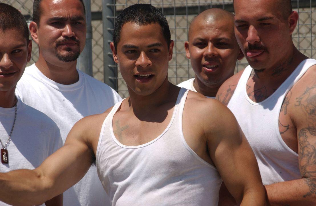 Wegen Drogenhandels sitzt der junge Gabriel Garcia (Jose Pablo Cantillo) im Gefängnis von Riker's Island ... - Bildquelle: CPT Holdings, Inc.  All Rights Reserved.