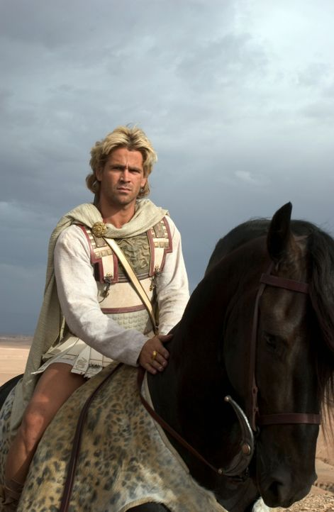 Alexander der Große (Colin Farrell) gehört zu den größten Eroberern aller Zeiten. Er dehnte sein Reich bis nach Persien, Ägypten und Indien aus... - Bildquelle: Constantin Film