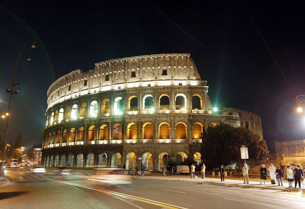 Das römische Kolosseum - Bildquelle: dpa