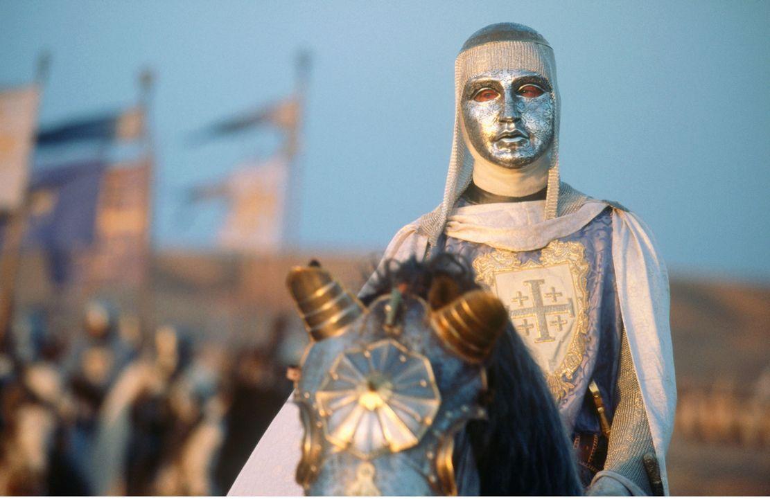 Jerusalem und das Reich unter Kontrolle zu halten, während immer mehr Fanatiker durch die Straßen rennen, ist für König Balduin (Edward Norton) kein... - Bildquelle: David Appleby 2015 Fox and its related entities. All rights reserved.