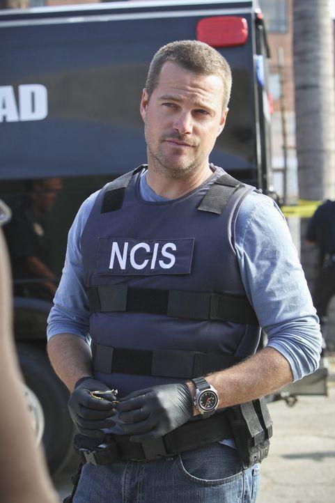 Gemeinsam mit seinen Kollegen versucht Callen (Chris O'Donnell), einen neuen Fall zu lösen ... - Bildquelle: CBS Studios Inc. All Rights Reserved.