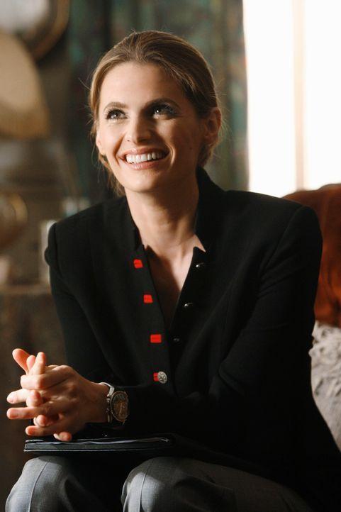 Die realistische Beckett (Stana Katic) misstraut allem nicht Erklärbaren ... - Bildquelle: 2011 American Broadcasting Companies, Inc. All rights reserved.