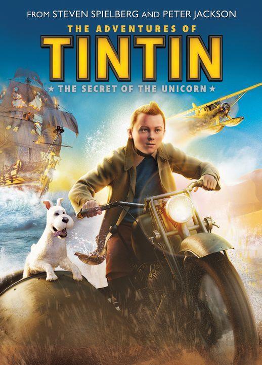 Die Abenteuer von Tim und Struppi - Plakatmotiv - Bildquelle: 2011 Columbia Pictures Industries, Inc., DW Studios L.L.C. and Hemisphere - Culver Picture Partners I, LLC. All Rights Reserved.