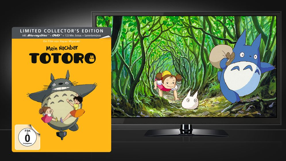 Mein Nachbar Totoro - Limited Steelbook Edition (Blu-ray + DVD) - Bildquelle: Universum Film Home Entertainment
