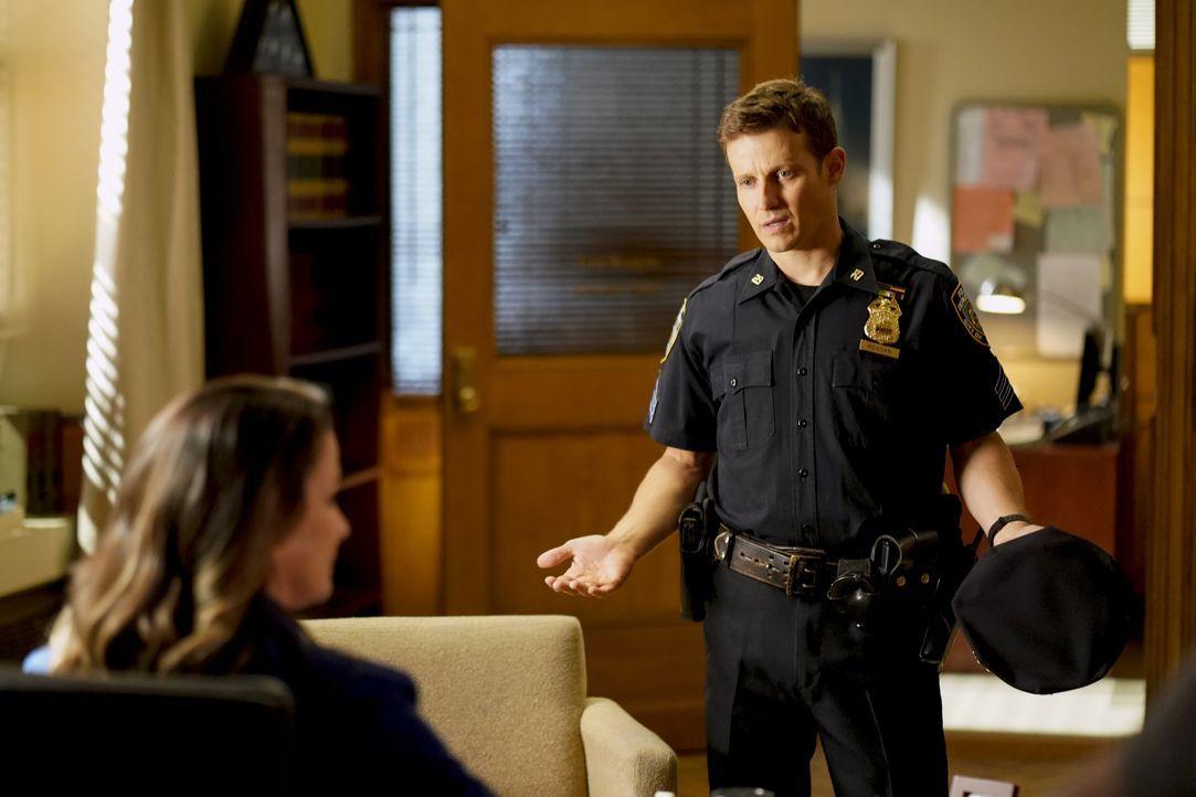 Erin Reagan (Bridget Moynahan, l.); Jamie Reagan (Will Estes, r.) - Bildquelle: John Paul Filo 2019 CBS Broadcasting Inc. All Rights Reserved. / John Paul Filo